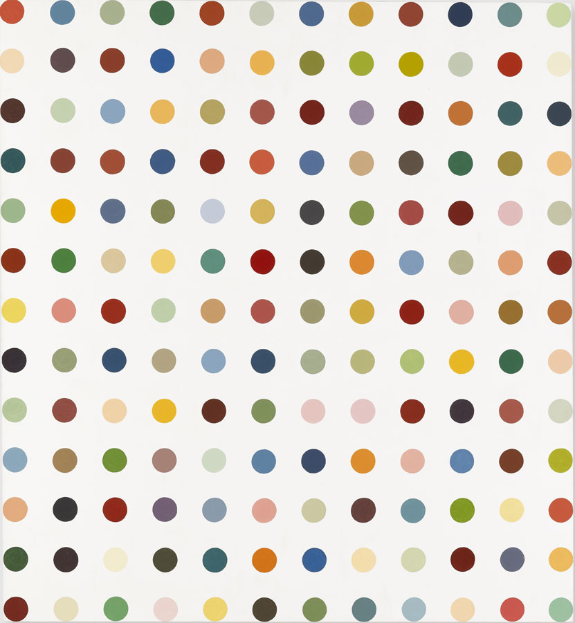 Damien Hirst: let's count all the spots