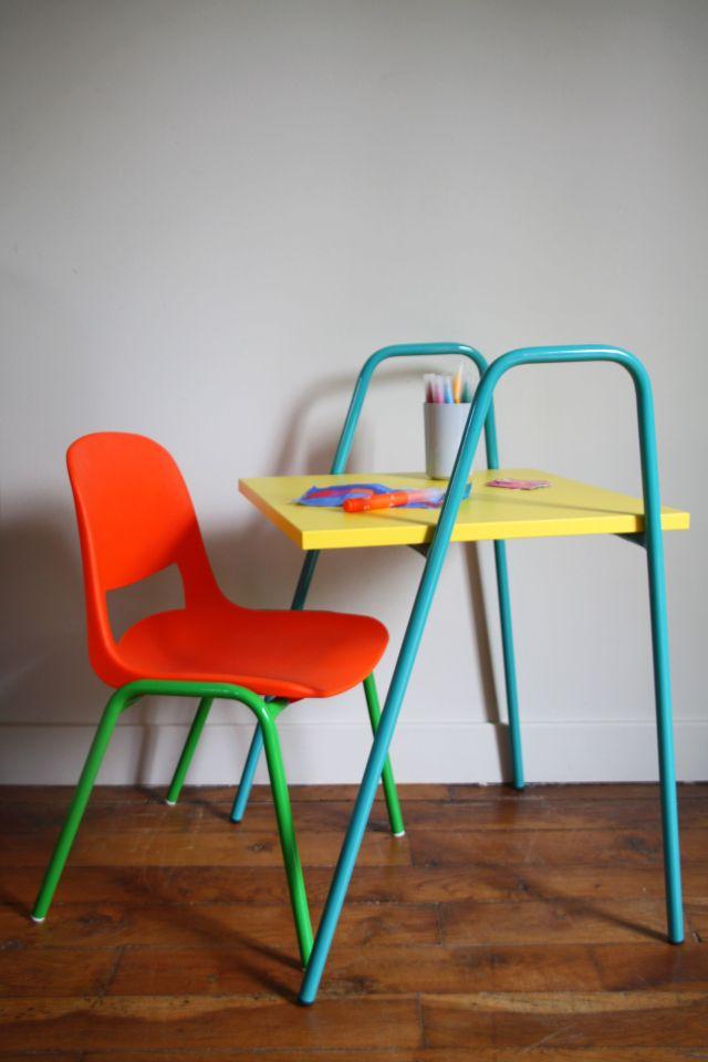 nomad jaune et turquoise